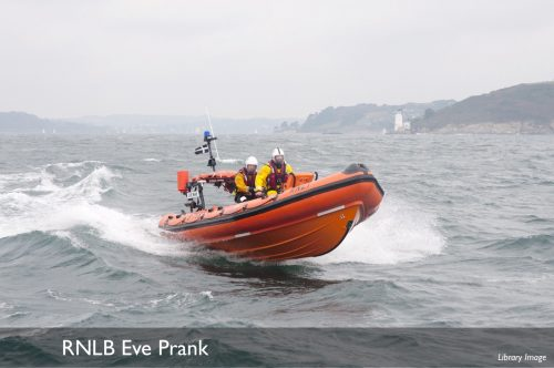 Falmouth Lifeboat Eve Prank